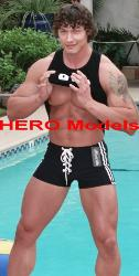 Dennis - The Brawny Male Stripper - PROFESSIONAL_MALE_EXOTIC_DANCERS_ENTERTAINERS-Call to book your next bachelorette party, birthday party or girls' night outinto an unforgettable evening with the Sexy Men of HERO HOT Bods!!